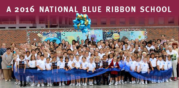 2016 National Blue Ribbon School - St Marys