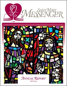 2015-16 St Mary Annual Report Cover