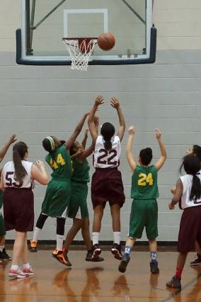 St. Mary Storm Basketball