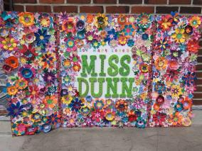 St. Mary- Miss Dunn memorial art project