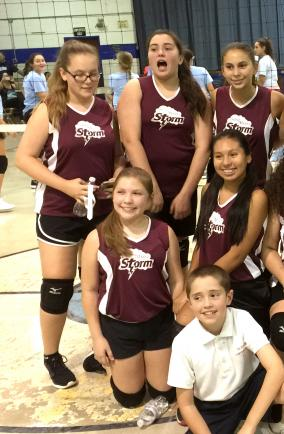 St Marys 1 Volleyball 2016